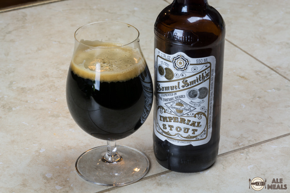 Paired with the Samuel Smith's Imperial Stout