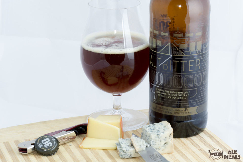 AltBitter with Fontal and Valdeon Cheeses