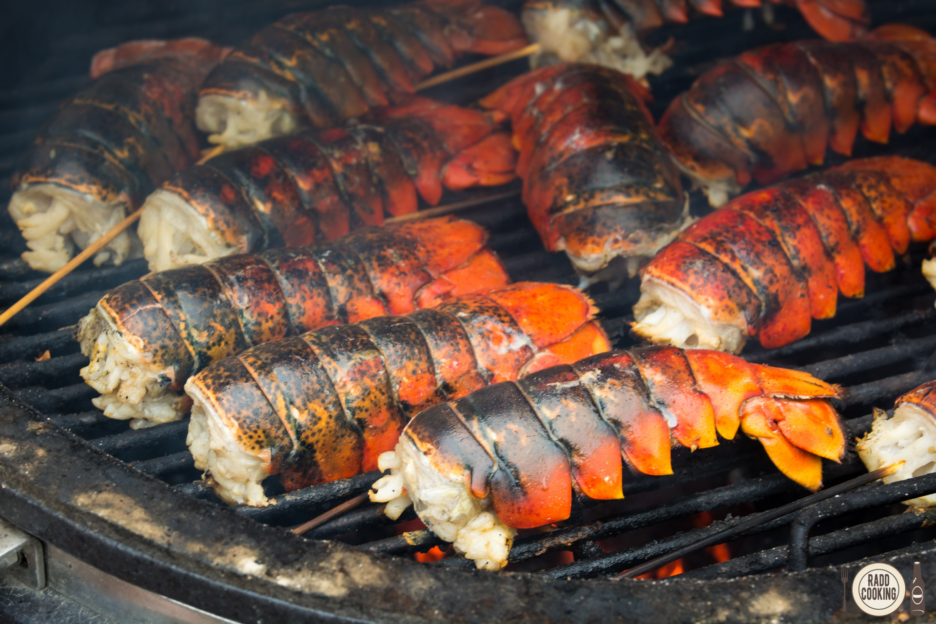Grilled Butter Lobster Tails