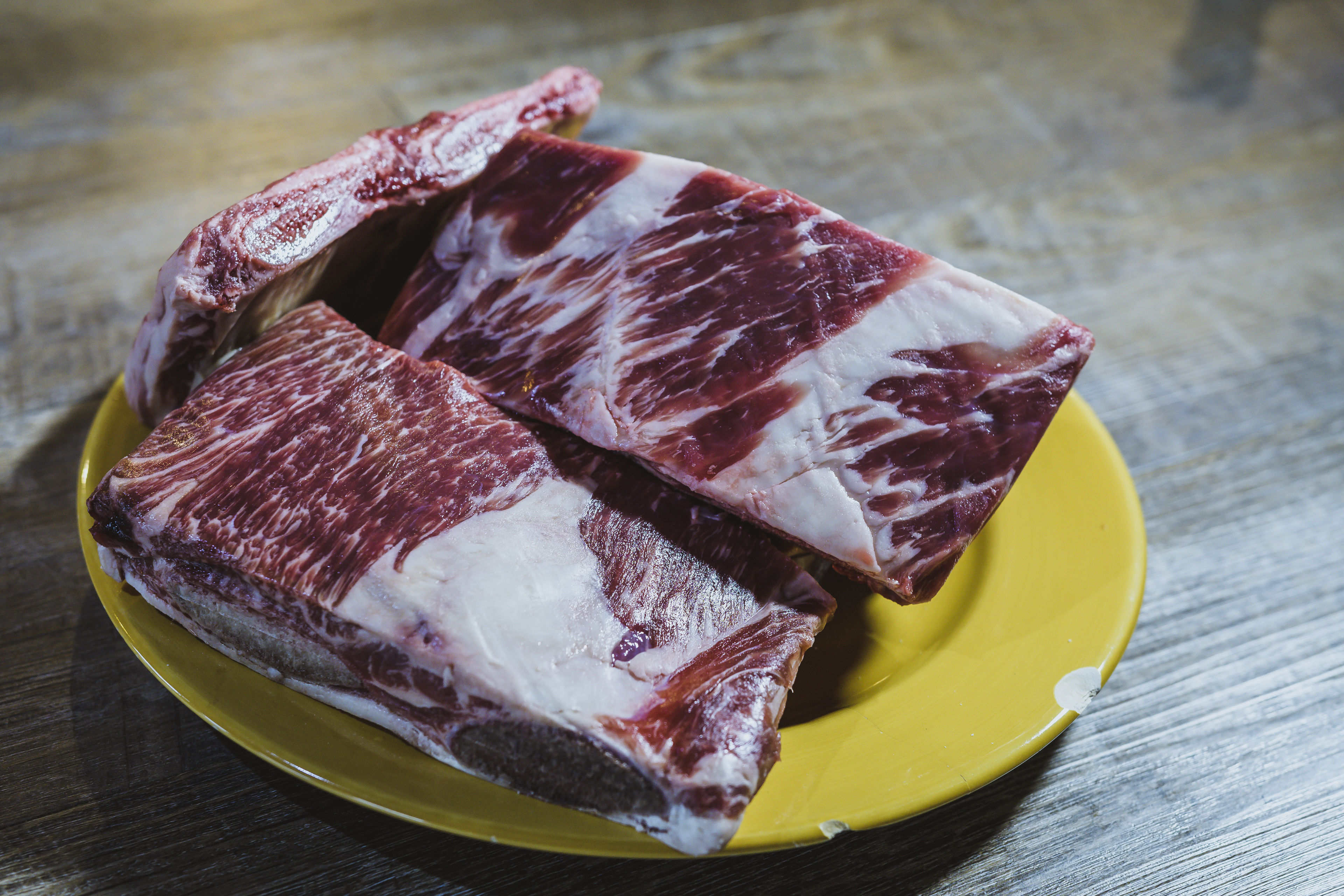 These short ribs are from this year's angus steer